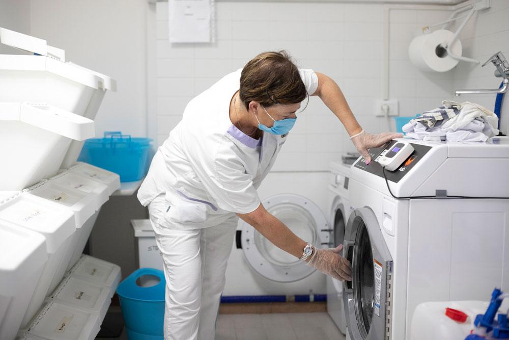 Servizio di lavanderia per anziani